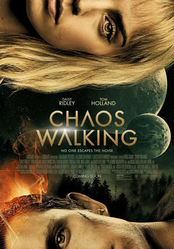 "Daisy Ridley - ""Chaos Walking"" Poster"