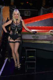 Denise Van Outen - Halloween Special for Her Cabaret Show at Proud Embankment in London 11/01/2020