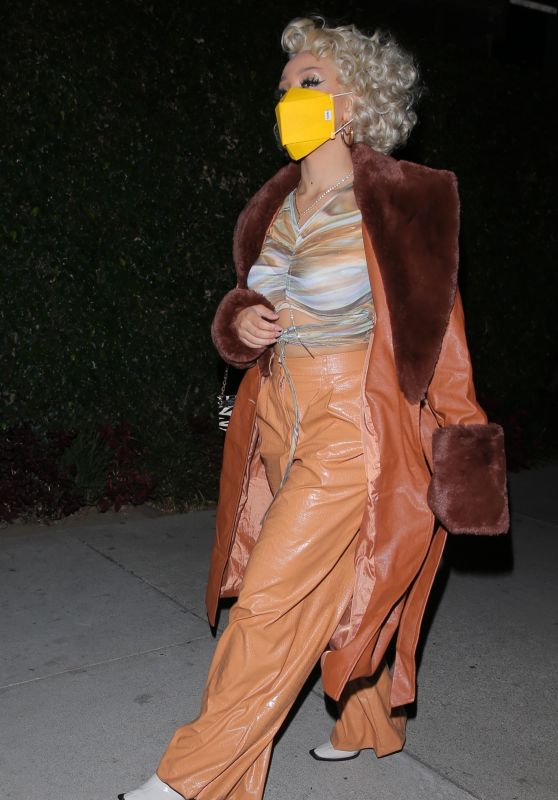 Doja Cat Night Out Style - BOA in West Hollywood 11/16/2020