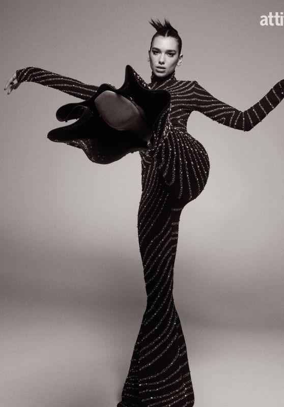 Dua Lipa - Photoshoot for Attitude Magazine December 2020