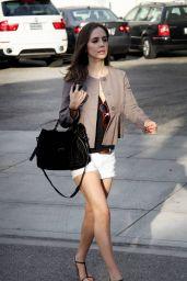 Eliza Dushku - Leaving Byron & Tracey in Beverly Hills 09/30/2010