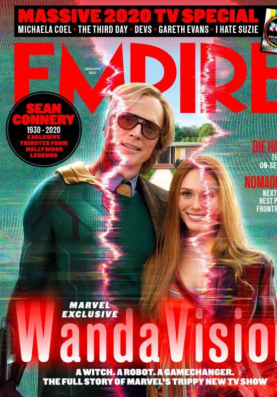Elizabeth Olsen - Empire Magazine January 2021 Cover