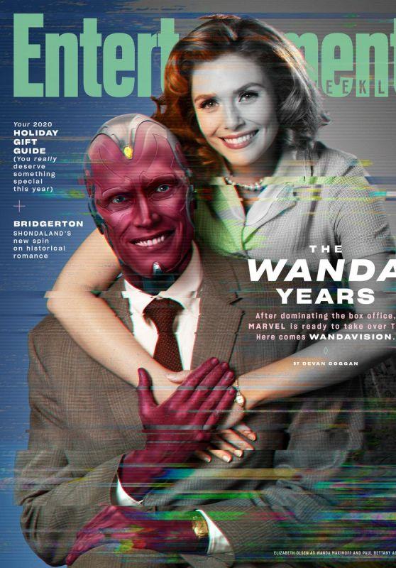 Elizabeth Olsen - Entertainment Weekly Wandavision November 2020 Issue