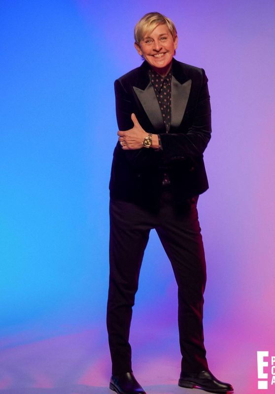 Ellen Degeneres – 2020 People's Choice Awards Portrait Studio Pic