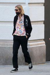 Elsa Hosk at Ground Support in Soho, New York 11/08/2020