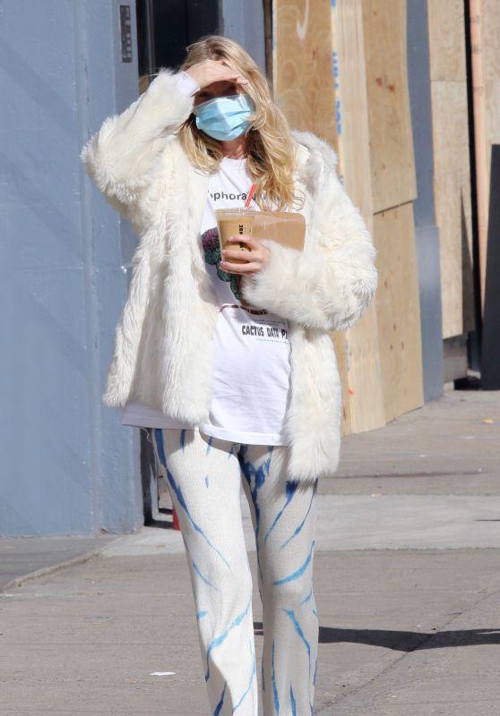 Elsa Hosk in Manhattan