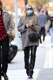 Elsa Hosk - Walking Around Soho in NY 11/21/2020