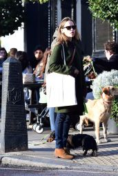 Emilia Clarke With a Mystery Man in North London 10/25/2020