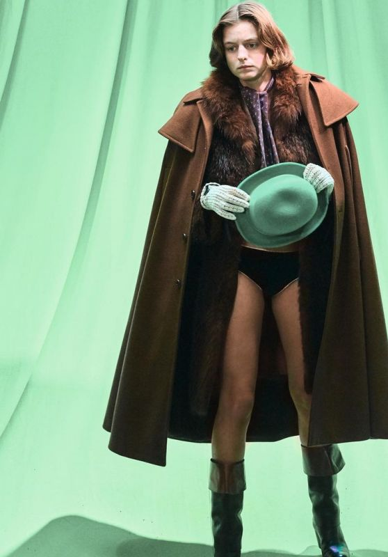 Emma Corin - Photoshoot for Buffalo Zine No 12 2020