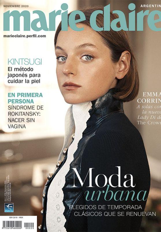 Emma Corrin - Marie Claire Argentina November 2020 Cover