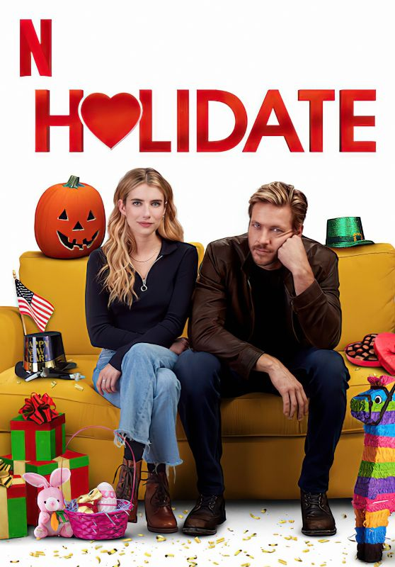 """Emma Roberts - """"Holidate"""" Poster and Photo 2020"""