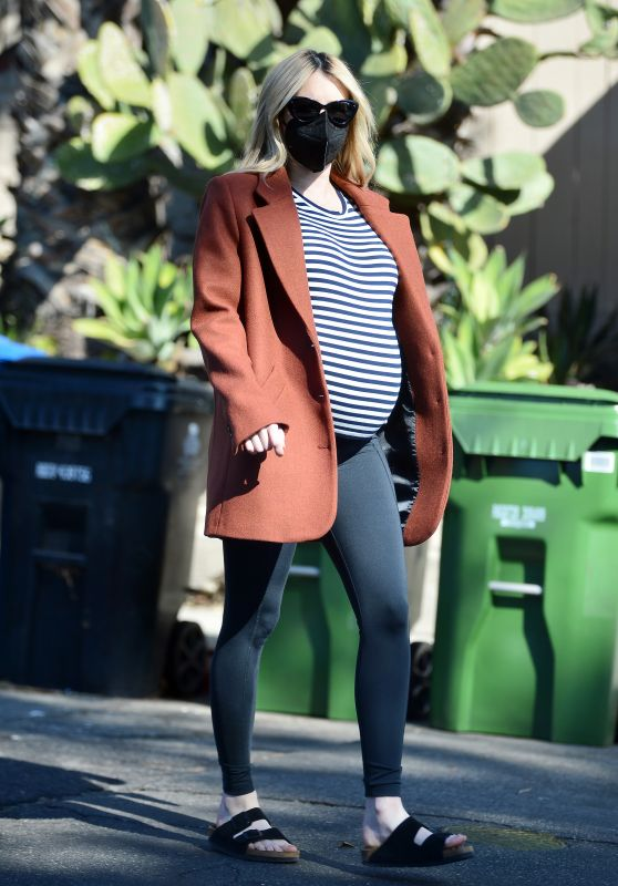 Emma Roberts - Out in Los Angeles 11/25/2020