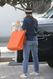 Emmy Rossum - Shopping at Hermes on Rodeo Drive in Beverly Hills 11/02/2020