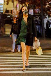 Famke Janssen - Running Errands on Her Birthday in NYC 11/05/2020