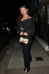 Francesca Allen Night Out Style - Heads to the Chelsea Lodge 11/05/2020