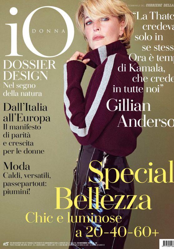Gillian Anderson - Io Donna del Corriere Della Sera 11/28/2020 Issue