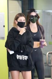 Hailey Bieber and Kendall Jenner - After Their Workout in LA 11/06/2020