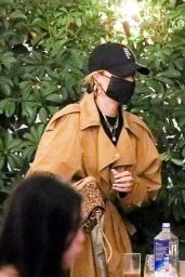 Hailey Bieber - Night Out in Beverly Hills 11/16/2020