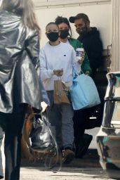 Halsey - Arrives at a Studio in LA 11/10/2020