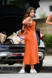 Hannah Sluss Street Style - Los Angeles 11/05/2020