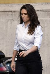 """Hayley Atwell - """"Mission Impossible 7"""" Set in Rome 11/29/2020"""