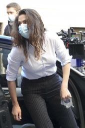 """Hayley Atwell - Shooting """"Mission Impossible 7"""" in Rome 11/26/2020"""