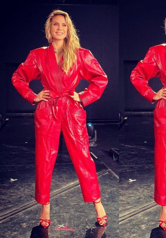 Heidi Klum Outfit 11/09/2020