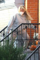Hilary Duff in Casual Outfit - NYC 11/21/2020