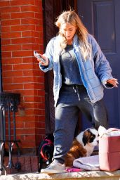 Hilary Duff - Out in New York 11/14/2020