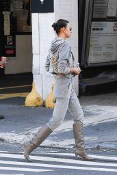 Irina Shayk - Running Errands in SoHo, NY 11/09/2020