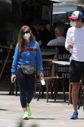 Isla Fisher in Tights - Out in Sydney 11/25/2020