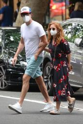 Isla Fisher - Out in Woollahra in Sydney 11/27/2020