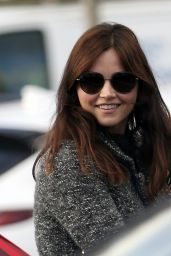 Jenna Coleman at the Gas Station in London 11/15/2020