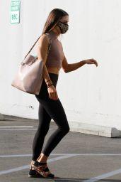 Jenna Johnson in Tights - Los Angeles 11/03/2020