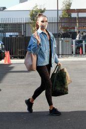 Jenna Johnson in Tights - Los Angeles 11/18/2020