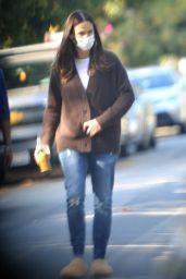 Jennifer Garner - Walk in Her Neighborhood in LA 11/12/2020
