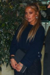 Jennifer Lopez at Sunset Towers in West Hollywood 11/06/2020