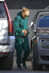 Jennifer Lopez at the Recording Studio in Beverly Hills 11/14/2020
