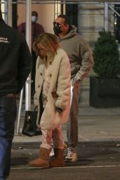 Jennifer Lopez in Warm Coat -  New York 11/24/2020