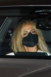 Jennifer Lopez - Leaves Sunset Tower Hotel in West Hollywood 11/05/2020