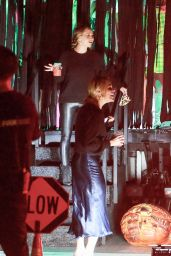 Jennifer Meyer - Casamigos Halloween Truck Visits Her at Her House 10/31/2020