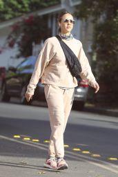 Jessica Alba in Sweatsuit - LA 11/12/2020