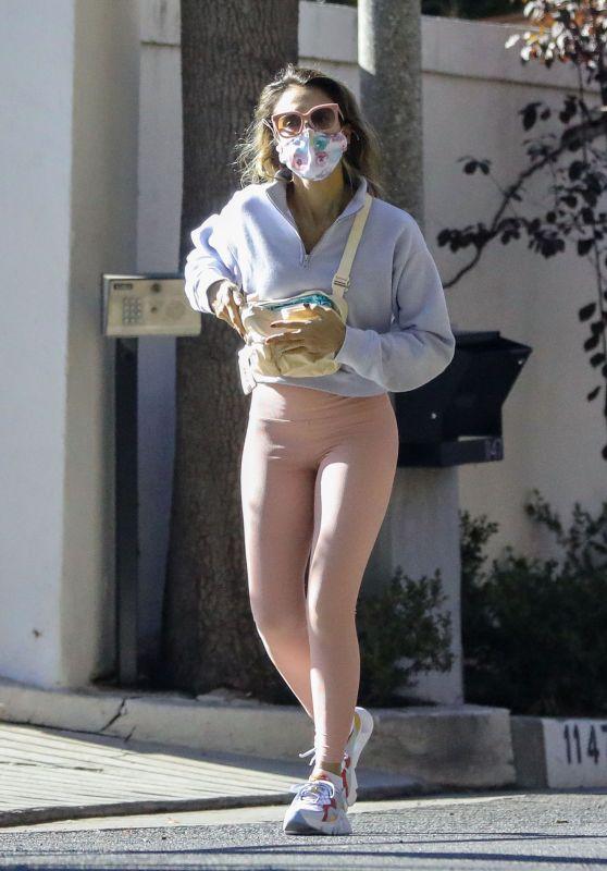 Jessica Alba Street Style - Beverly Hills 11/19/2020