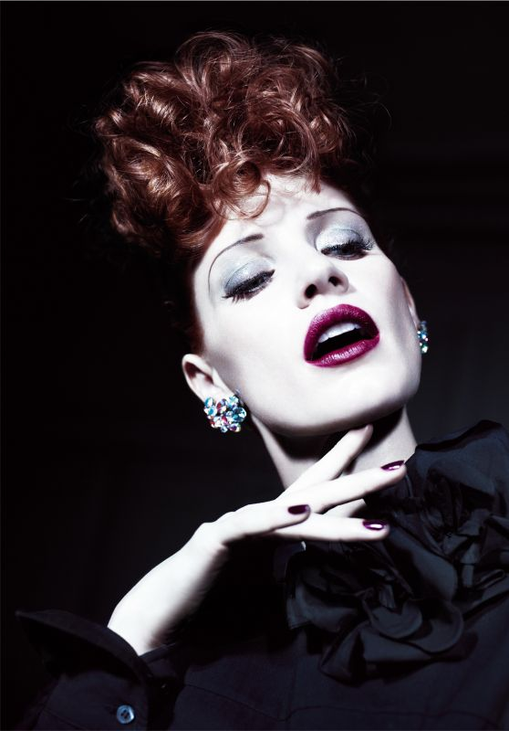 Jessica Chastain - AnOther Magazine Spring/Summer 2012 Photoshoot