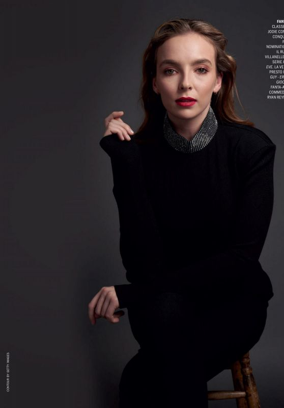Jodie Comer - Marie Claire Italy December 2020 Issue
