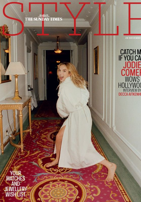 Jodie Comer - The Sunday Times Style 11/29/2020