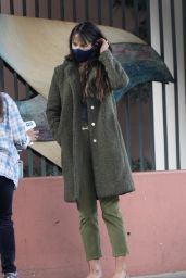 Jordana Brewster - Out in Santa Monica 11/02/2020