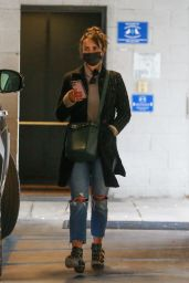 Jordana Brewster - Out in Westwood 11/25/2020