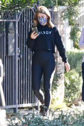 Julianne Hough in Casual Outfit - Hiking in LA 11/28/2020
