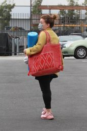 Justina Machado - Leaving the DWTS Studio in Los Angeles 11/05/2020
